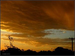 swathe of cloud