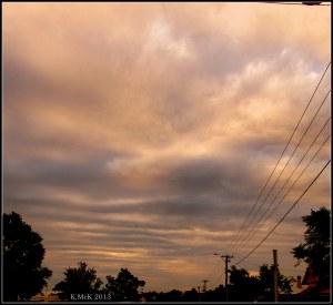 cloud detail_towards the horizon