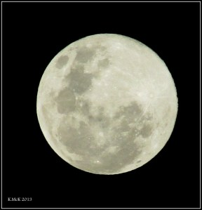 tonight's full moon