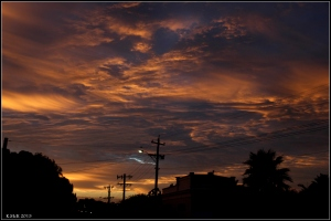 sunset clouds_2