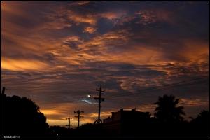 sunset clouds_2